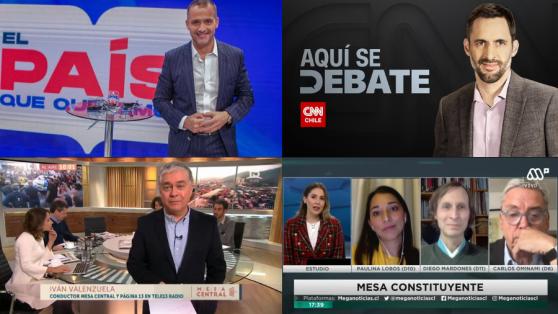 Chile cambió, pero ¿y los medios? El pluralismo de la tele frente al proceso constituyente