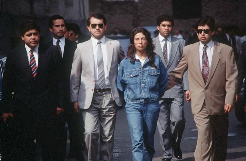 """Maritza Jara (""""Gabriela"""") fue detenida en 1992 y se fugó en diciembre de ese mismo año."""