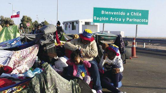 El estrés de ser madre migrante