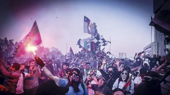 El neobarrismo: las barras como actor social relevante en el Chile del estallido