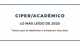 Los 20 artículos más leídos de 2020 en CIPER Académico