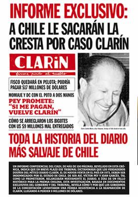 Por qué la Concertación bloqueó el resurgimiento del Diario Clarín