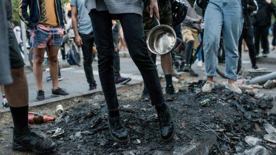 Protesta social, violencia y cambio constitucional