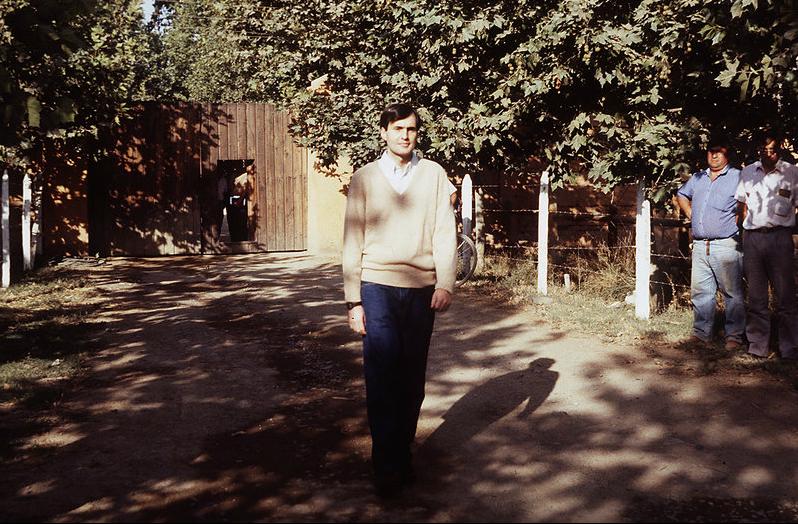 Cristián Edwards al día siguiente de su liberación.
