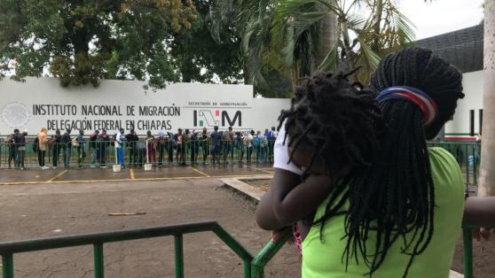 El Covid detuvo en México a una bebé haitiana nacida en Chile cuyos padres cruzaron a pie la selva del Darién