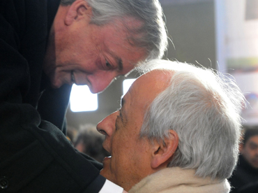 "Palabras de CFK al despedir a Kirchner: ""No vamos a cambiar justo ahora"""