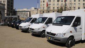 Problemas de salud y privacidad paralizan el uso de 4 furgones con Rayos X para las policías