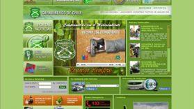 Claves de la web de Carabineros y base de datos del personal policial en manos de un estafador