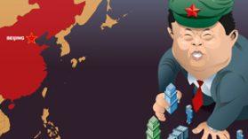La «telaraña» de Wang Jing y la conexión militar con China