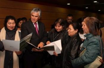 Valdivia es trasladado a la Dirección de Tránsito de Vitacura